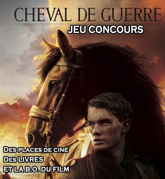 Jeu Concours Cheval de Guerre