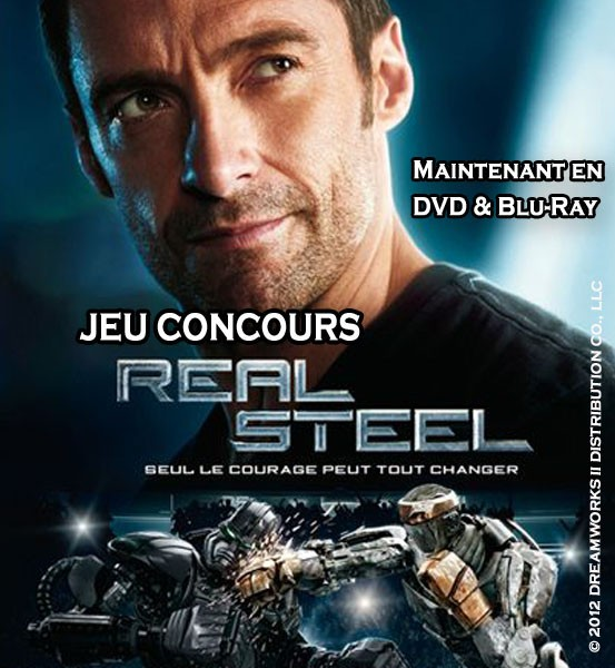 Jeu Concours Real Steel
