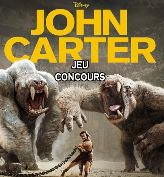 Jeu Concours John Carter