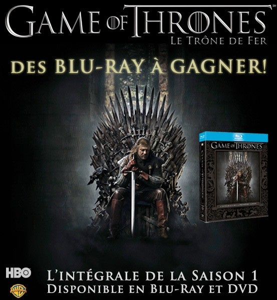 Jeu Concours Games of Thrones