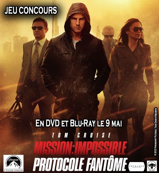  Jeu Concours Mission Impossible 4 : Protocole Fantme