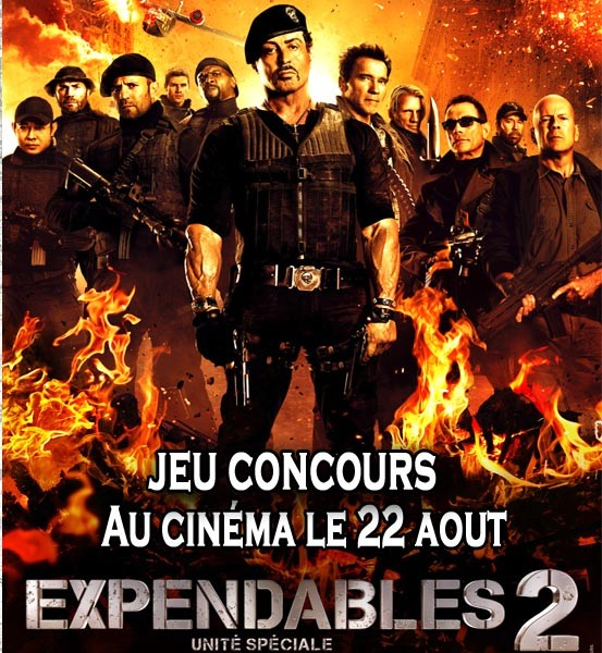 Jeu Concours Expendables 2