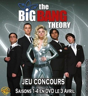 Jeu Concours DVD : The Big Bang Theory Saison 4
