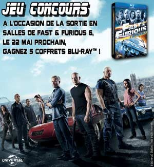 Jeu Concours FAST and FURIOUS