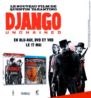 Django Unchained : Jeu Concours DVD et Blu-Ray