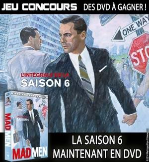 Jeu Concours : Gagnez des DVD de la saison 6 de MAD MEN