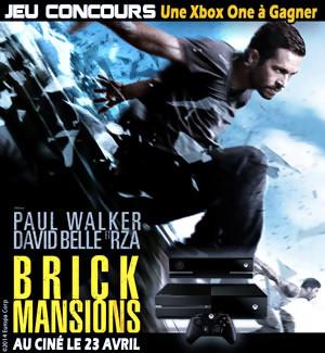 Jeu Concours : Gagnez une Xbox One avec le film Brick Mansions