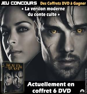 Jeu Concours : Gagnez des DVD de la série The Beauty and the Beast
