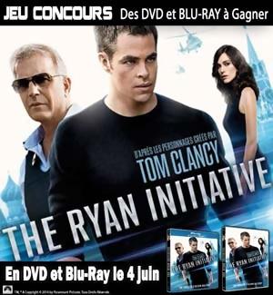 Jeu Concours : gagnez des DVD et Blu-Ray du film The Ryan Initiative