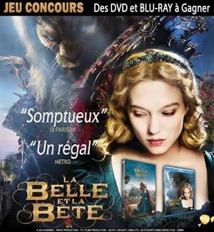 Jeu Concours : gagnez des DVD et Blu-Ray du film LA BELLE ET LA BETE
