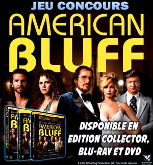 Jeu Concours : gagnez des DVD et Blu-Ray du film AMERICAN BLUFF