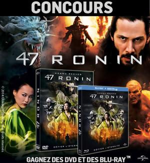 Jeu Concours : gagnez des DVD et Blu-Ray du film 47 RONIN