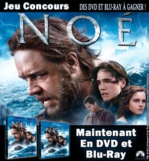 Jeu Concours : Gagnez des DVD et Blu-Ray  du film NOÉ