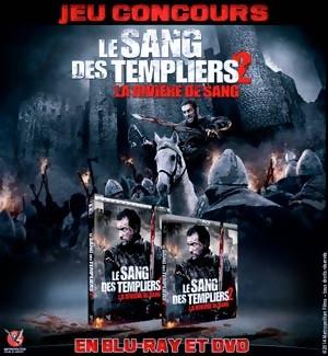 Jeu Concours : Gagnez des DVD et Blu-Ray  du film Le Sang des Templiers 2