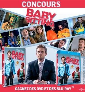 Jeu Concours : Gagnez des DVD et Blu-Ray du film BABYSITTING