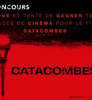 Jeu Concours : Gagnez vos places pour le film CATACOMBES !