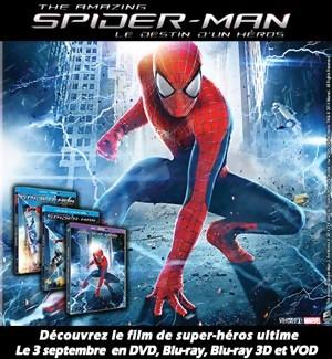 Jeu Concours : Gagnez des DVD et Blu-Ray de The Amazing Spiderman 2