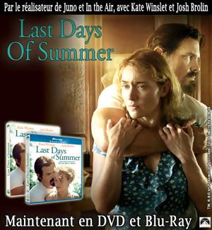 Jeu Concours : gagnez des DVD et Blu-Ray du film Last Days of Summer