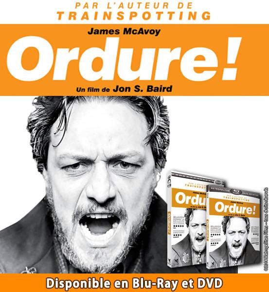Jeu Concours : gagnez des DVD et Blu-Ray du Film ORDURE (Filth)
