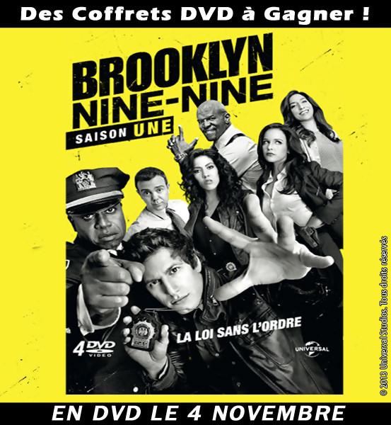 Jeu Concours : Gagnez des DVD de la série BROOKLYN NINE NINE