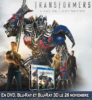Jeu Concours  Transformers 4