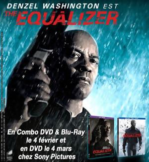Jeu Concours : gagnez des Combo DVD & Blu-Ray de THE EQUALIZER