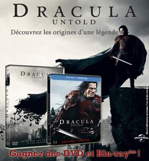 Jeu Concours : gagnez des DVD et Blu-Ray de DRACULA UNTOLD