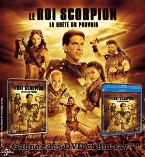 Jeu Concours : Gagnez des DVD et Blu-Ray du film LE ROI SCORPION 4