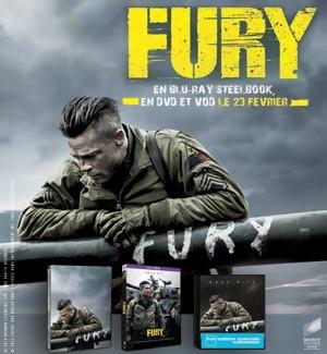 Jeu Concours : gagnez des DVD et Blu-Ray du film FURY