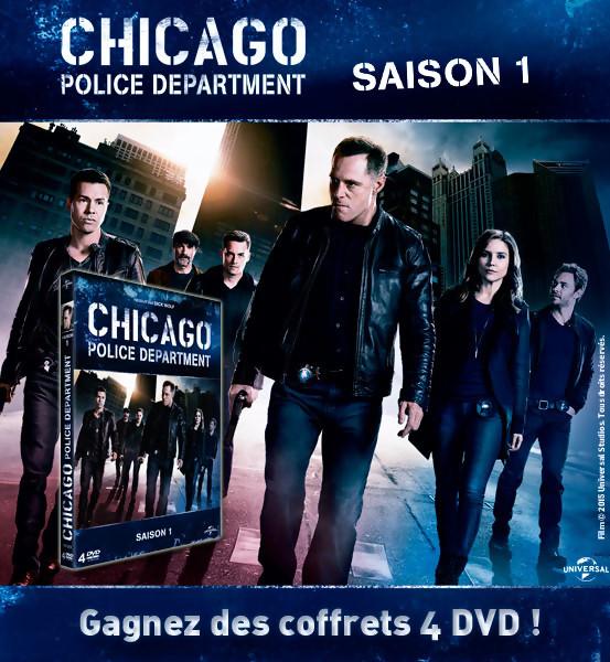 Gagnez des DVD de Chicago Police Department [Jeu Concours]