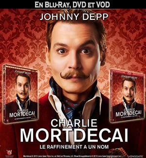 Jeu Concours : gagnez des DVD et BLU-RAY de MORTDECAI avec Johnny Depp