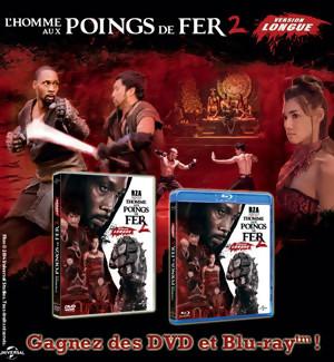 Jeu Concours : gagnez des DVD et BLU-RAY de l'Homme aux Poings de Fer 2