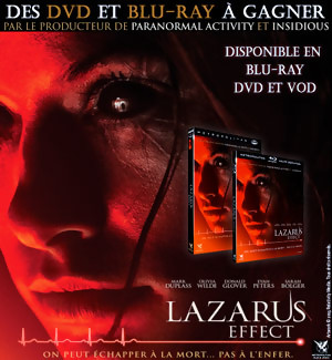 Jeu Concours : gagnez des DVD et BLU-RAY du film LAZARUS EFFECT