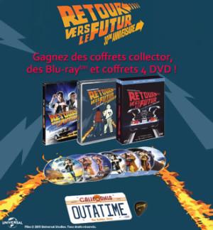 Gagnez des DVD & BLU-RAY de  Retour vers le Futur (Jeu Concours)