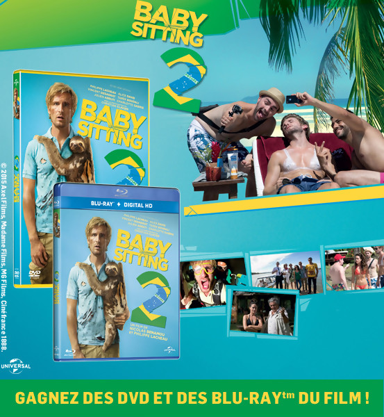 JEU CONCOURS : Gagnez des DVD & Blu-Ray du film BABYSITTING 2