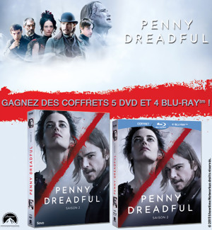 Jeu Concours : Gagnez des DVD et BLU-RAY de Penny Dreadful SAISON 2