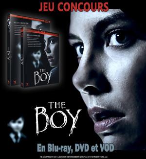 Jeu Concours : Gagnez des coffrets DVD et BLU-RAY du film THE BOY