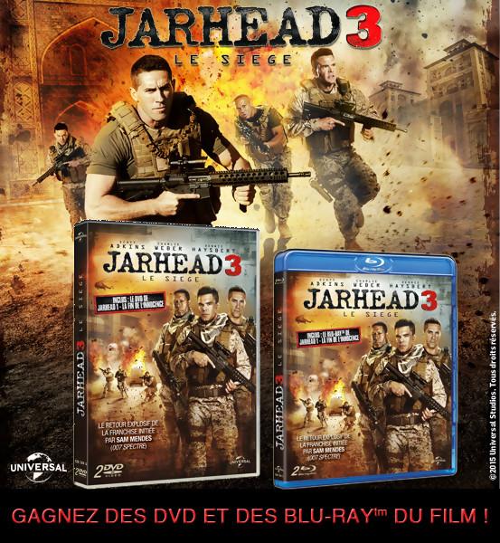 Jeu Concours JARHEAD 3 : Gagnez des DVD et BLU-RAY du film