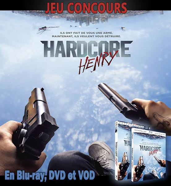 Jeu Concours HARDCORE HENRY : Gagnez des DVD et BLU-RAY du film