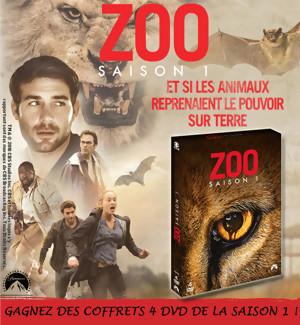 Jeu Concours : Gagnez des DVD de la saison 1 de la série ZOO