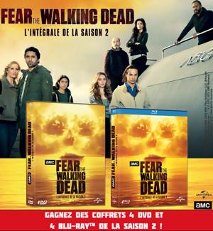 Gagnez des DVD & BLU-RAY de FEAR THE WALKING DEAD Saison 2 (Jeu Concours)