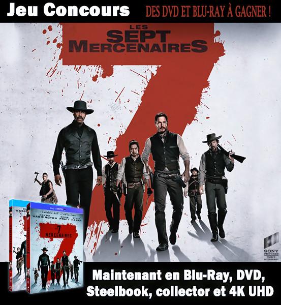 JEU CONCOURS Les 7 Mercenaires - Gagnez des Blu-Ray & DVD