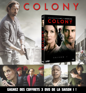 JEU CONCOURS COLONY : gagnez des coffrets de la saison 1