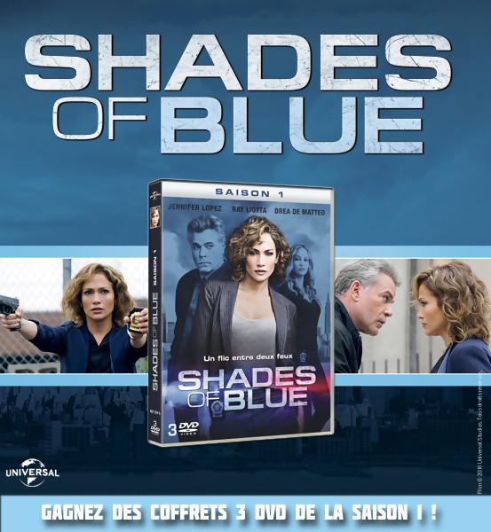 Jeu Concours : Gagnez des DVD de Shades of Blue Saison 1