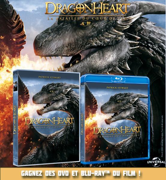 JEU CONCOURS Gagnez des Blu-Ray de DragonHeart 4