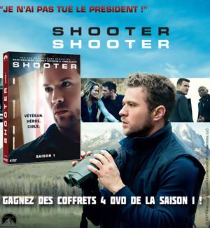 JEU CONCOURS : Gagnez des coffrets DVD de la série SHOOTER