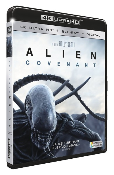 JEU CONCOURS ALIEN CONVENANT : gagnez des BLU-RAY et DVD