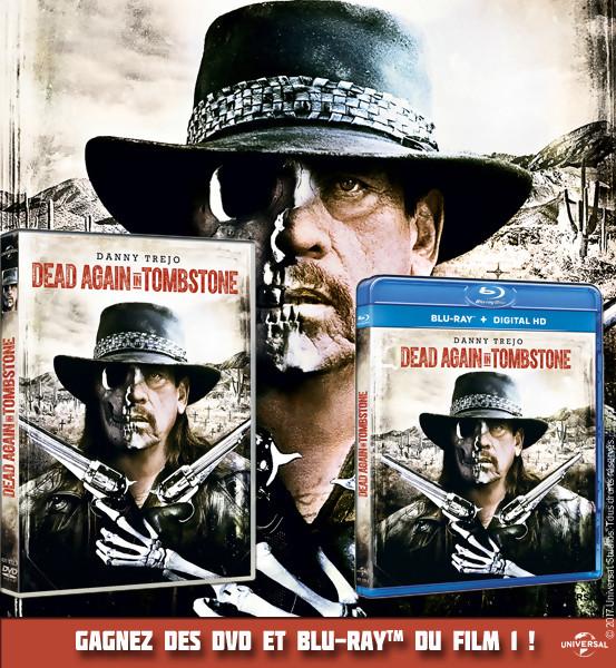 JEU CONCOURS : Gagnez des DVD et BLU-RAY de Dead Again In Tombstone