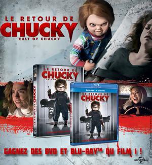 JEU CONCOURS : Gagnez des DVD et BLU-RAY de CHUCKY
