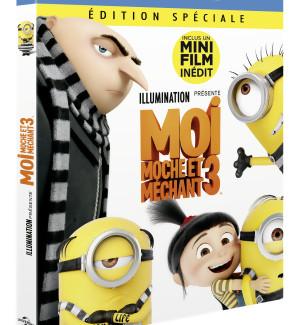 JEU CONCOURS MOI, MOCHE ET MECHANT 3 : des DVD et Blu-ray™ à gagner